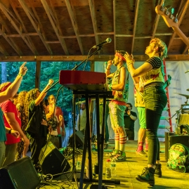 Cowabunga Pizza Time performing live at MAGStock 9 at Small Country Campground in Louisa, VA on June 8, 2019. PHOTO BY: BRADLEY PEARCE www.bradleypearce.com