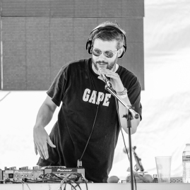 DJ Super Sonic performing live at MAGStock 9 at Small Country Campground in Louisa, VA on June 8, 2019. PHOTO BY: BRADLEY PEARCE www.bradleypearce.com