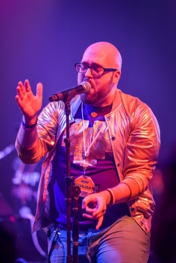 Professor Shyguy and parts of the NPC Collective performing live at MAGFest 17 (2019) at the Gaylord National Convention Center on January 4, 2018. PHOTO BY: BRADLEY PEARCE
